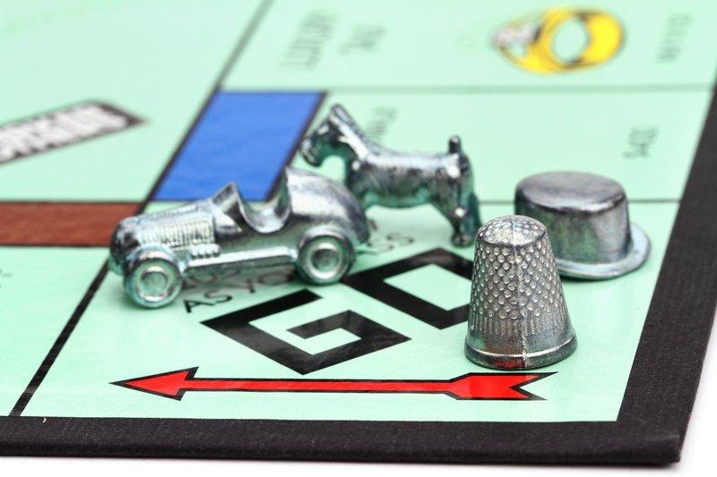 Monopoly game Go square